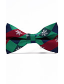 cheap Men's Accessories-Men's Grid Bow Tie - Jacquard
