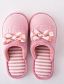cheap Men's Hoodies & Sweatshirts-Women's Shoes Flocking Winter Comfort Slippers & Flip-Flops Black / Peach / Pink