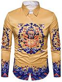 cheap Men's Shirts-Men's Street chic Shirt Print