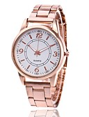 cheap Quartz Watches-Women's Wrist Watch Quartz Casual Watch Metal Band Analog Charm Casual Fashion Silver / Gold / Rose Gold - Gold Silver Rose Gold