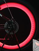 billige Sykkeljerseys-Sykkellykter / Blinkende ventillys / hjul lys LED Sykkellykter Sykling bakgrunnsbelysning, Flere moduser Cellebatterier Batteri Sykling / Motorsykkel / IPX-4