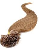 olcso Kvarc-Febay Fúziós / U típus Human Hair Extensions Klasszikus Emberi haj tincsek Emberi haj Női - Sötét aranybarna Blonde Mogyoróbarna