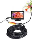billige Jenteklær-av endoskop kamera 5v 5,5 mm objektiv mini kamera ntsc vanntett ip66 inspeksjon borescope slange pipe kamera nattesyn 20m kabel