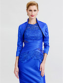 cheap Cocktail Dresses-3/4 Length Sleeve Taffeta Wedding / Party / Evening Women's Wrap With Shrugs
