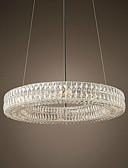tanie Damskie spodnie-OBSESS® 6 świateł Lampy widzące Światło rozproszone Kryształ Metal Kryształ 110-120V / 220-240V