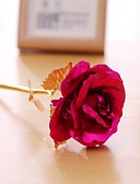 baratos Camisetas & Regatas Masculinas-Flores artificiais 1 Ramo Pastoril Estilo Rosas Flor de Mesa