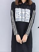 cheap Women's Hoodies & Sweatshirts-Women's Cotton Hoodie Print