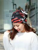 זול צעיפים לנשים-כובע עם שוליים רחבים כותנה מדפיס / דפוס יום יומי בגדי ריקוד נשים