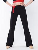 Χαμηλού Κόστους Αξεσουάρ Χορού-Λάτιν Χοροί Παντελόνια Φούστες Γυναικεία Επίδοση Ρεϊγιόν Ψηλό Παντελόνια