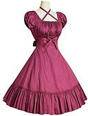 ieftine Rochii de Seară-Prințesă Lolita dulce Pentru femei Rochii Cosplay Negru / Gri / Fucsia Balon / Puf Manșon scurt Lungime medie Costume