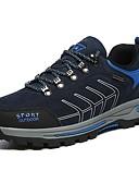 povoljno Kvarcni satovi-Muškarci Brušena koža Proljeće Udobne cipele Atletičarke tenisice Planinarenje Crn / Dark Blue / Tamno siva