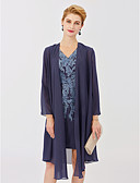 cheap Mother of the Bride Dresses-Long Sleeves Chiffon Wedding Party / Evening Women's Wrap Coats / Jackets