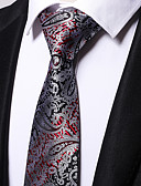 cheap Men's Ties & Bow Ties-Men's Polyester Necktie - Floral