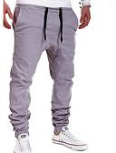ieftine Pantaloni Bărbați si Pantaloni Scurți-Bărbați Activ Skinny / Zvelt Pantaloni Mată