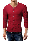 cheap Men's Tees & Tank Tops-Men's Chinoiserie Cotton T-shirt Print Round Neck