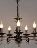 baratos Moda Íntima Exótica para Homens-5-luz Lustres Luz Ambiente - Estilo Vela, 110-120V / 220-240V Lâmpada Não Incluída / 5-10㎡ / E12 / E14