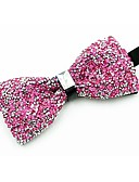 cheap Men's Ties & Bow Ties-Men's Vintage / Party Bow Tie - Crystal / Rhinestone
