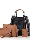 preiswerte Brautjungfernkleider-Damen Taschen PU Bag Set 4 Stück Geldbörse Set Reißverschluss Schwarz / Rote / Dunkelgrün