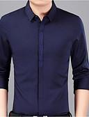 povoljno Muške majice i potkošulje-Veći konfekcijski brojevi Majica Muškarci - Ulični šik Izlasci Jedna barva Print / Dugih rukava