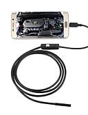 abordables Ropa Interior y Calcetines de Hombre-jingleszcn 5.5mm usb endoscopio cámara 2 m cable duro a prueba de agua ip67 inspección serpiente boroscopio cámara para android pc