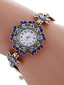 ieftine Ceas Brățară-NAVIFORCE Pentru femei Quartz Ceas de Mână Ceas Brățară Chineză imitație de diamant Aliaj Bandă Vintage Casual Boem Modă Alb Albastru
