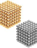 tanie Męskie koszule-216*2 pcs 3mm Zabawki magnetyczne Kulki magnetyczne / Klocki / Kostka do układania Metalowy / Magnes Unisex Dla dorosłych Prezent