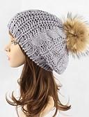 olcso Divatos sapkák-Női Egyszínű Stílusos Sapka-csősál Svájcisapka Fedora kalap Széles karimájú kalap Sísapka