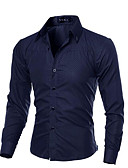 povoljno Muške majice i potkošulje-Majica Muškarci - Vintage Izlasci Jednobojni / Dugih rukava