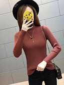 זול חולצה-אחיד - סוודר שרוול ארוך גולף בגדי ריקוד נשים