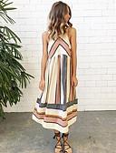 cheap Women's Dresses-Women's Going out Boho Shift Dress - Geometric High Waist