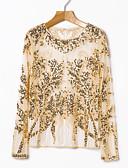 cheap Women's Blouses-Women's Chic & Modern T-shirt - Print, Stylish