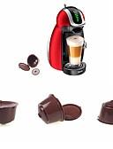 זול חולצה-קפסולה לשימוש חוזר עבור dolce gusto קפה nescafe refillable להשתמש 150 פעמים