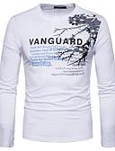 povoljno Muške majice i potkošulje-Majica s rukavima Muškarci Dnevno Okrugli izrez Print