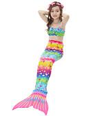 זול טרנינגים וקפוצ'ונים לגברים-בנות חמוד פעיל דפוס בגדי ים, כותנה פוליאסטר ללא שרוולים קשת
