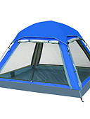 رخيصةأون ساعات كوارتز-4 شخص في الهواء الطلق خيمة شفافة منزل شفاف مقاوم للماء حماية UV قطب الماسورة القبة غرفة واحدة طبقة واحدة خيمة التخييم إلى عن على تخييم السفر