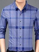זול טישרטים לגופיות לגברים-סגנון רחוב ספורט חולצה - בגדי ריקוד גברים / שרוול ארוך