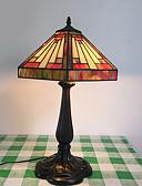 זול שמלות ערב-מַתַכתִי / מסורתי / קלסי דקורטיבי מנורת שולחן עבור סלון מתכת 220V