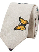 cheap Men's Ties & Bow Ties-Men's Cotton Necktie - Print