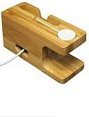 halpa iPhone näytönsuojat-Apple Watch Jalusta adapterilla Other Puinen Kirjoituspöytä