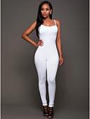 povoljno Ženski jednodijelni kostimi-Žene Pamuk Jumpsuits Jednobojni Harem hlače