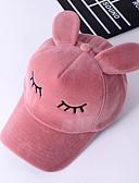 זול כובעים אופנתיים-שחור ורוד מסמיק אפור כובע בייסבול פלנל חורף סתיו יום יומי