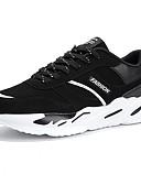זול קווארץ-בגדי ריקוד גברים טול אביב / סתיו נוחות נעלי אתלטיקה ריצה שחור לבן / שחור אדום / שחור / כחול