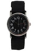 זול שעוני ילדים-שעון יד Japanese קווארץ 30 m עמיד במים שעונים יום יומיים ניילון להקה אנלוגי יום יומי אופנתי שחור / ורוד / בריכה - שחור פוקסיה כחול שנתיים חיי סוללה