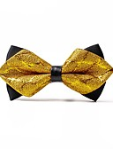 cheap Men's Ties & Bow Ties-Men's Casual Bow Tie - Solid Colored
