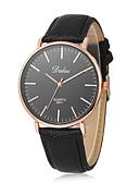 baratos Quartz-Mulheres Relógio de Pulso Chinês Relógio Casual Couro Banda Casual / Fashion / Minimalista Preta / Branco / Marrom / Um ano