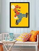 preiswerte Bauchtanzkleidung-Menschen Cartoon Design Darstellung Wandkunst,Plástico Stoff Mit Feld For Haus Dekoration Rand Kunst Wohnzimmer