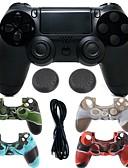 זול חולצות לגברים-משחק מגן במקרה מגן / בקר משחק עבור PS4 ,  ידית משחק משחק מגן במקרה מגן / בקר משחק סיליקון / ABS 1 pcs יחידה