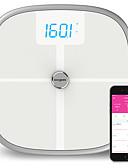 billige Junior brudepikekjoler-koogeek fda godkjent smart helse skala bluetooth wi-fi synkronisering måler muskel benmasse bmi bmr og visceral fettvekt kroppsfett vann