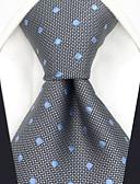 お買い得  メンズネクタイ&ボウタイ-男性用 オフィス ベーシック シルク, 水玉 / 波点 ネクタイ