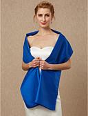 cheap Junior Bridesmaid Dresses-Sleeveless Taffeta Wedding / Party / Evening Women's Wrap With Shawls